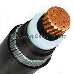Singlge Core MV 120-630 sq mm Single Core SWA Armoured Power Cable