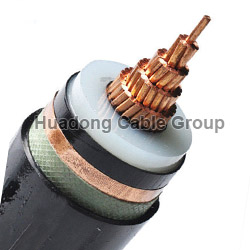 120~630mm2 Medium Voltage Single Core XLPE Power Cable